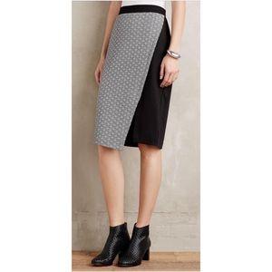 HD and Paris Addie Black White Pencil Skirt